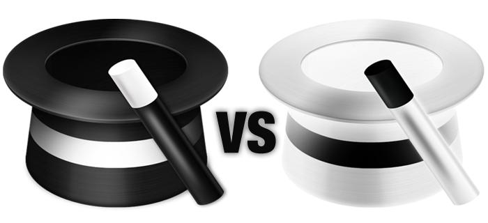 White Hat SEO and Black Hat SEO