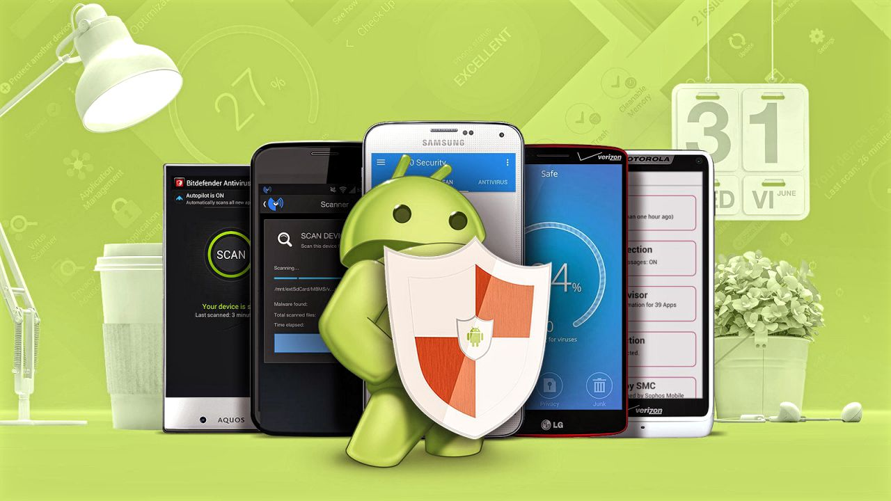 Android Smartphone Setting for Virus Protection